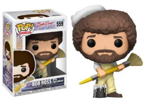 Bob Ross Funko POP Doll