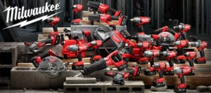 Milwaukee Woodworking tools